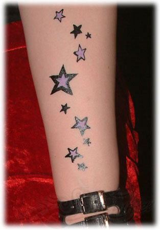 tattoo sterne on forearm tattoos for gilrs
